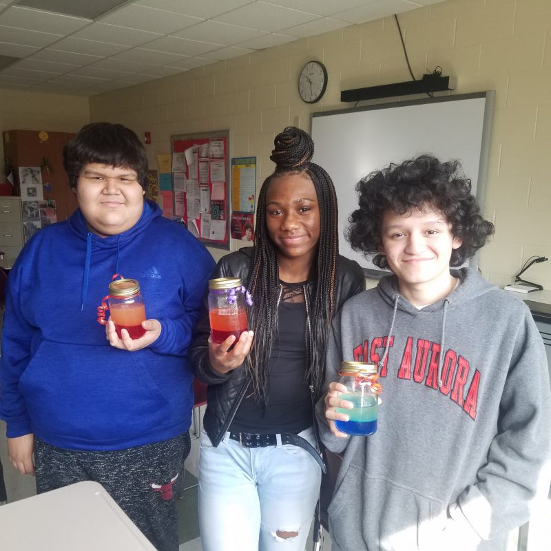 Students Make Lava Lamps